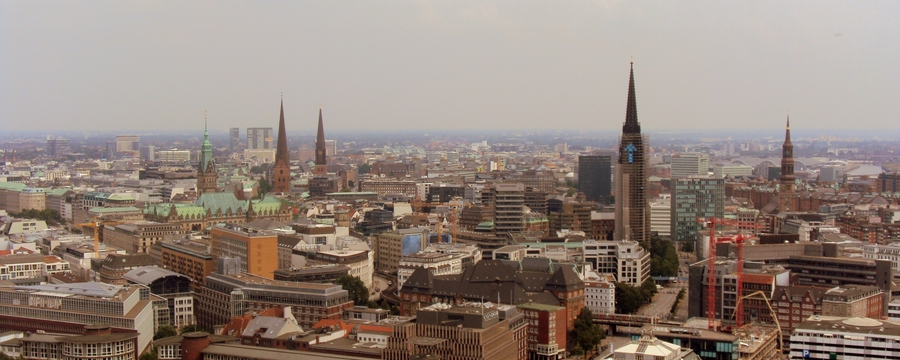 085 Hamburg City View